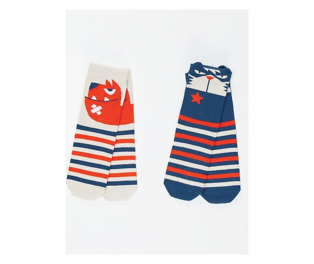 Set 2 perechi de sosete Cat&Dog 2-3 years