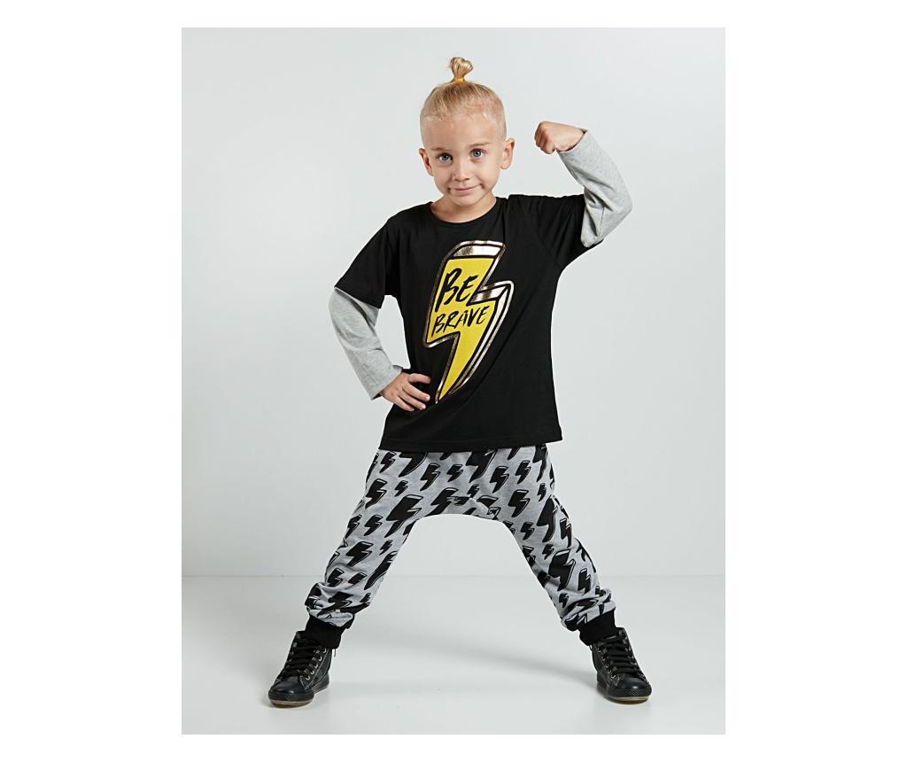 Set bluza si pantaloni Yellow Thunder 4 years