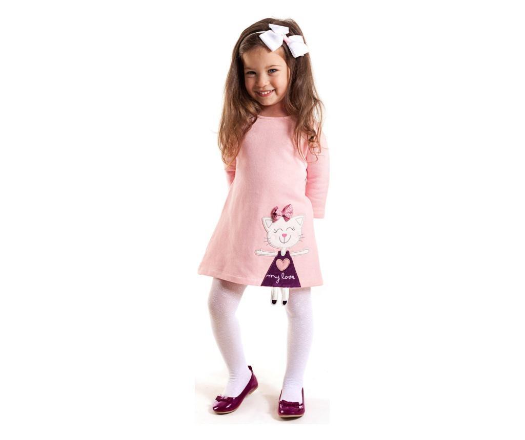 Rochie Cat Pink 6 years