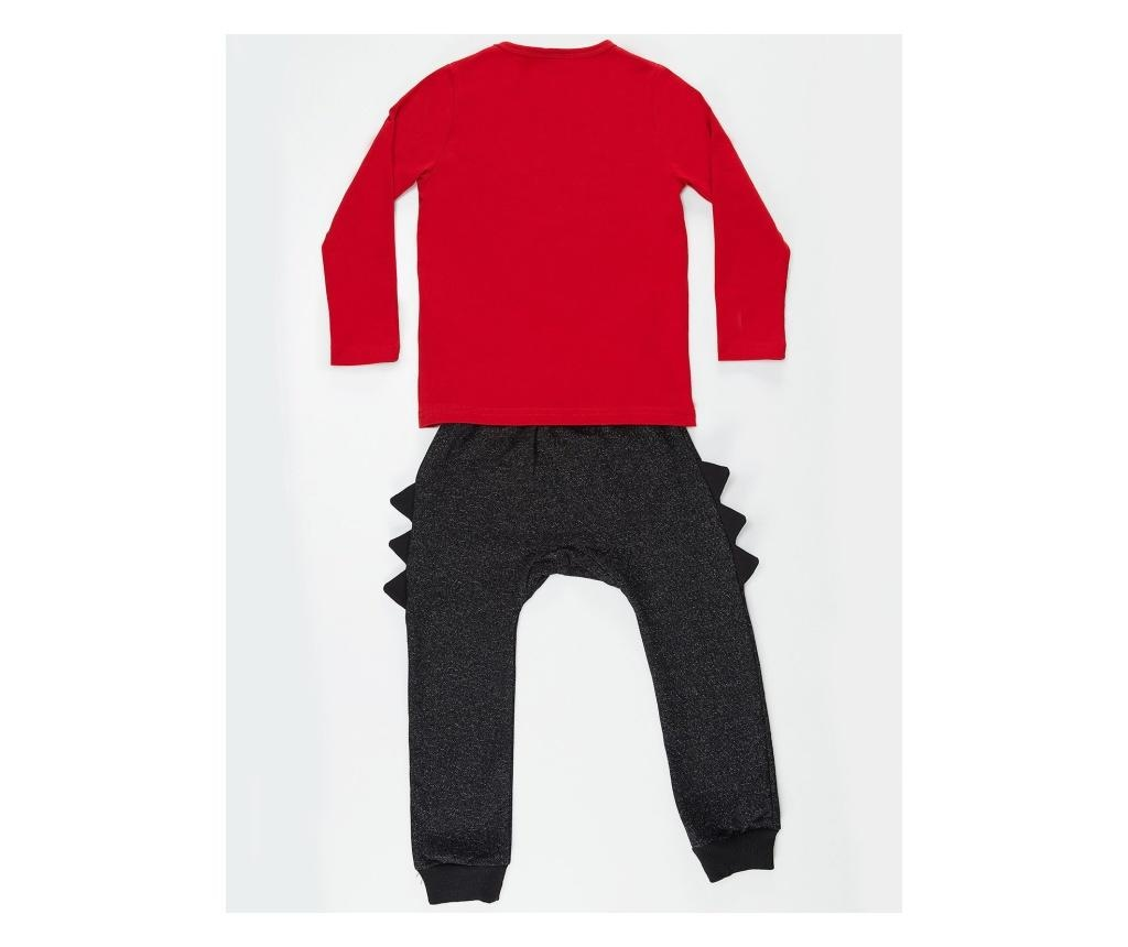 Set bluza si pantaloni Dino Spikes 5 years