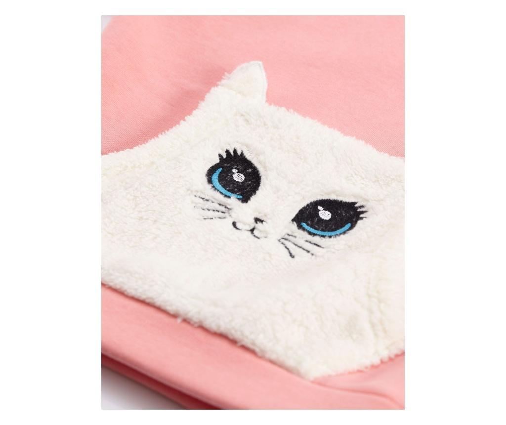 Set hanorac si pantaloni Plush Cat 7 years