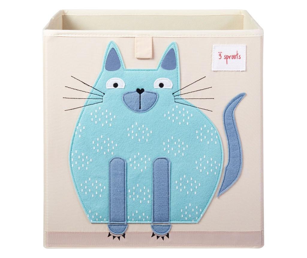 Cutie depozitare 33x33x33 cm, Pisica