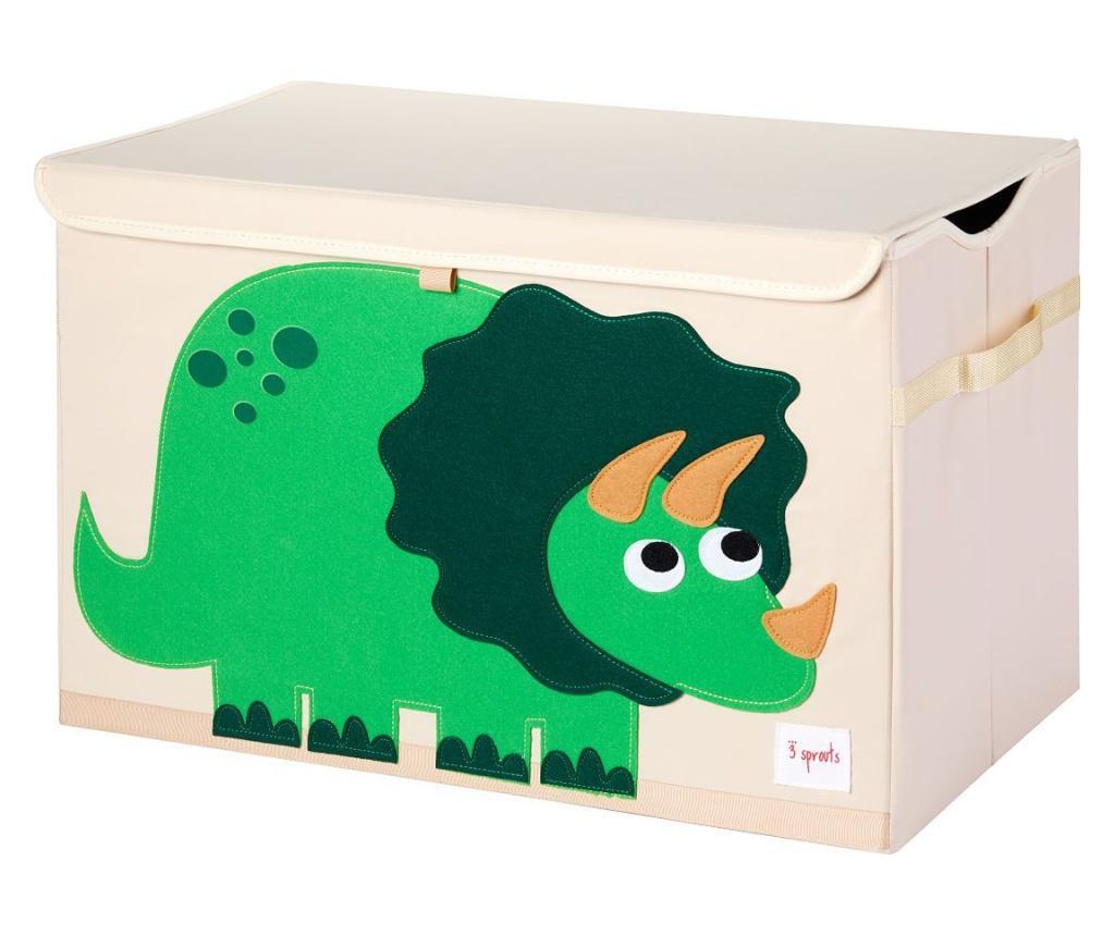 Cutie depozitare pentru camera copiilor, Dino, XL