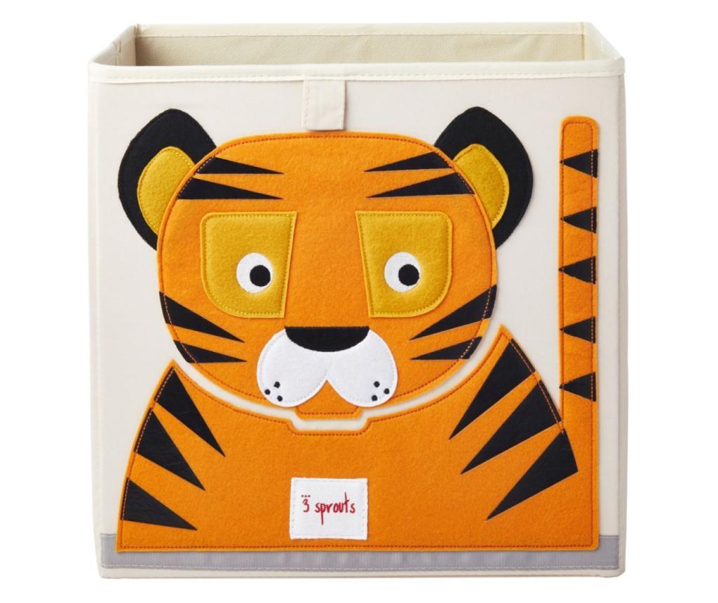 Cutie depozitare 33x33x33 cm, Tigru