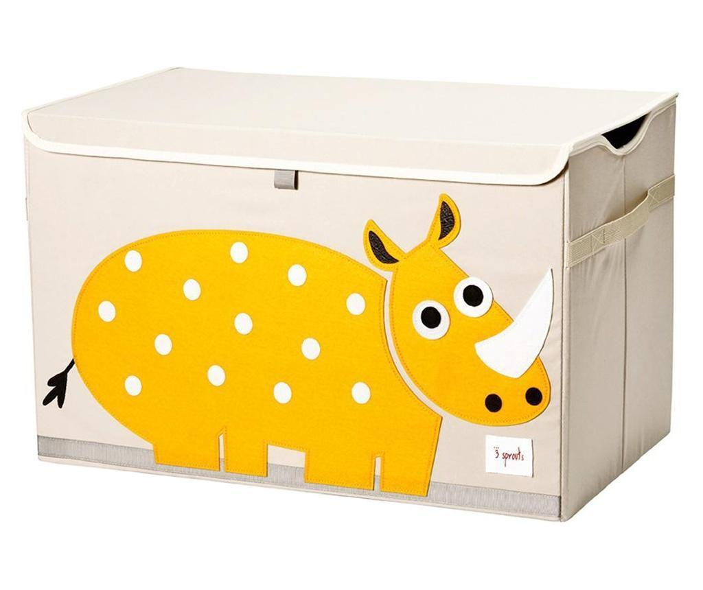 Cutie depozitare pentru camera copiilor, Rhino, XL