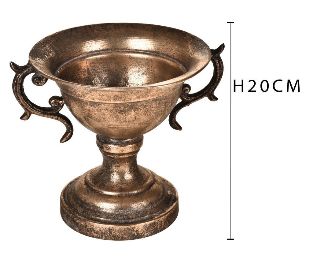 Ceasca Metal Decoration