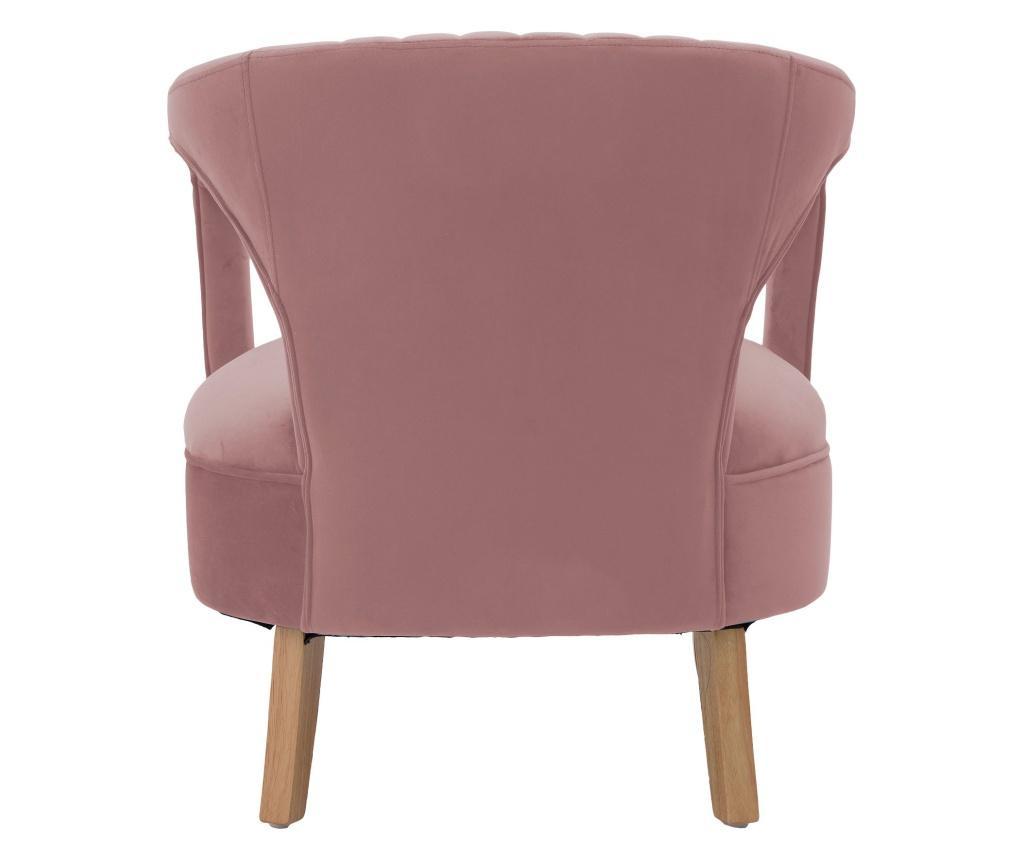 Fotel Velvet Pink