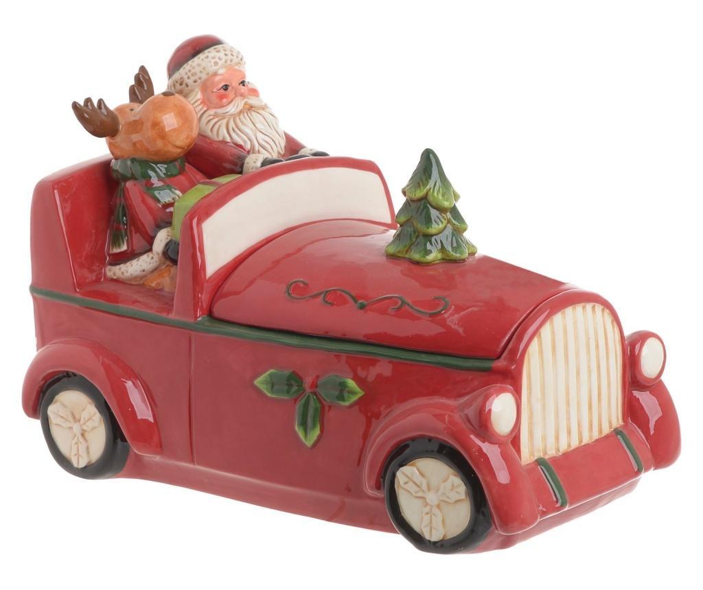 Cutie pentru bomboane Santa's car