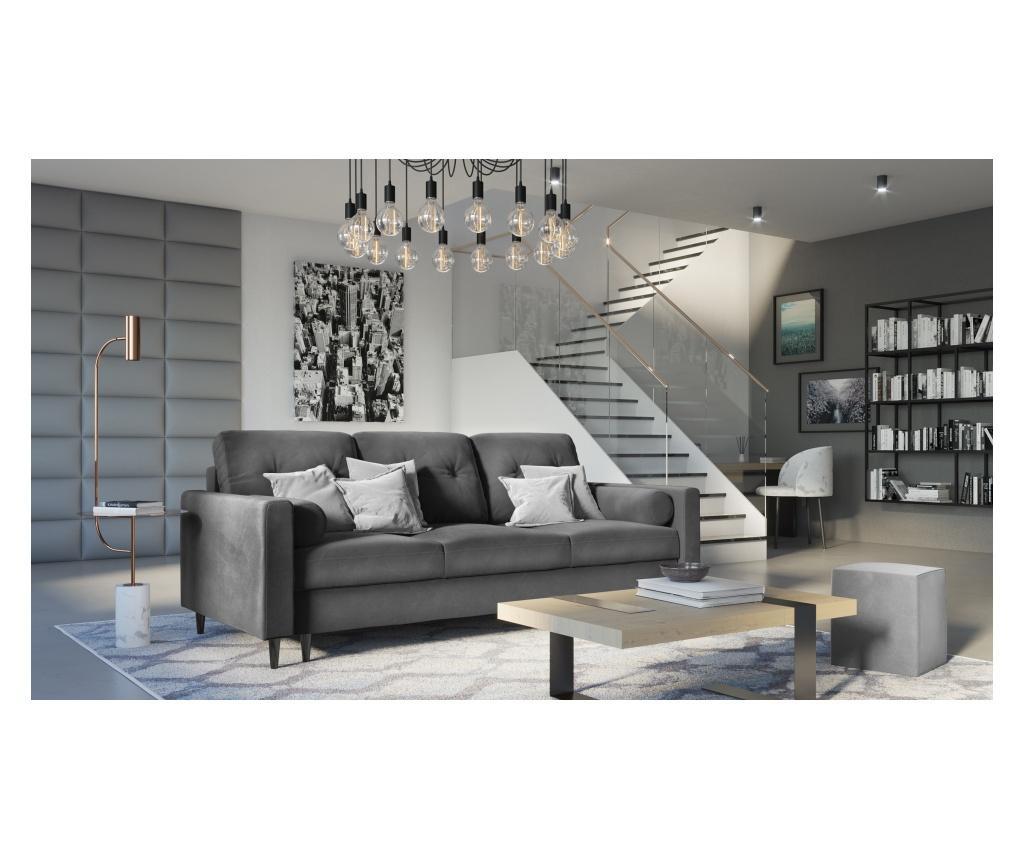 Sofa trosjed na razvlačenje Nairobi Light Grey