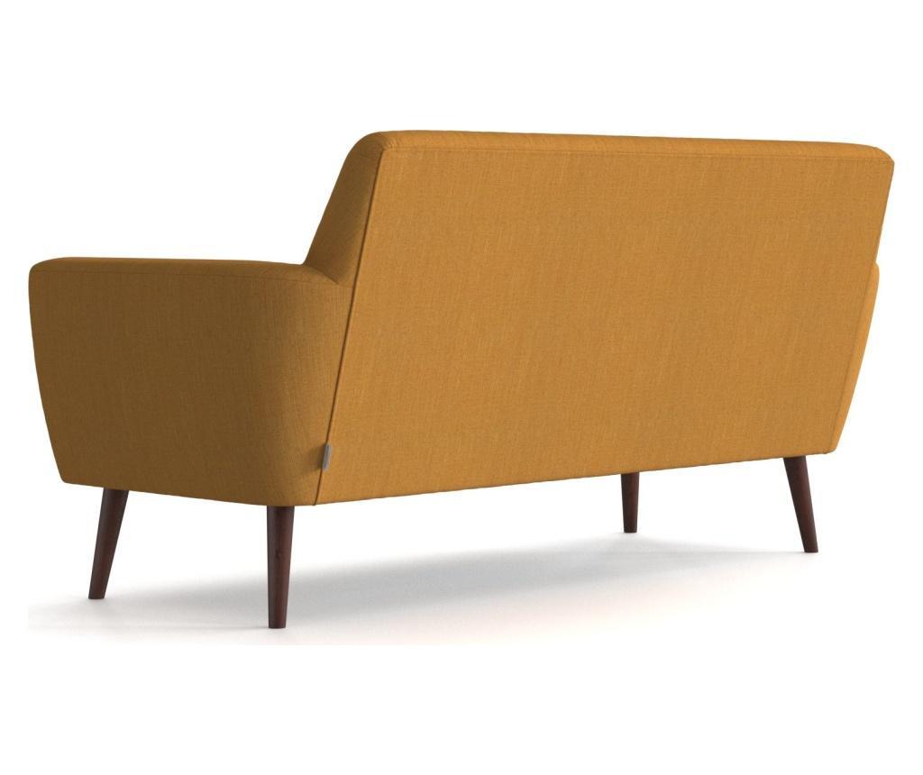 Canapea 2 locuri Enoi Mustard