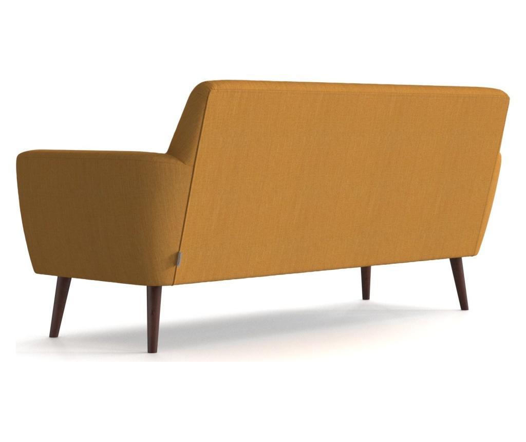 Canapea 3 locuri Enoi Mustard
