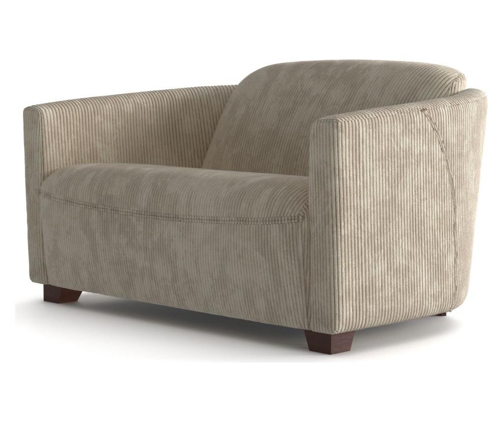 Canapea 2 locuri Milton Cream