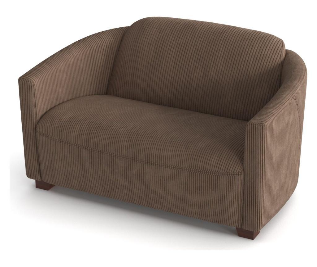 Canapea 2 locuri Milton Hazelnut