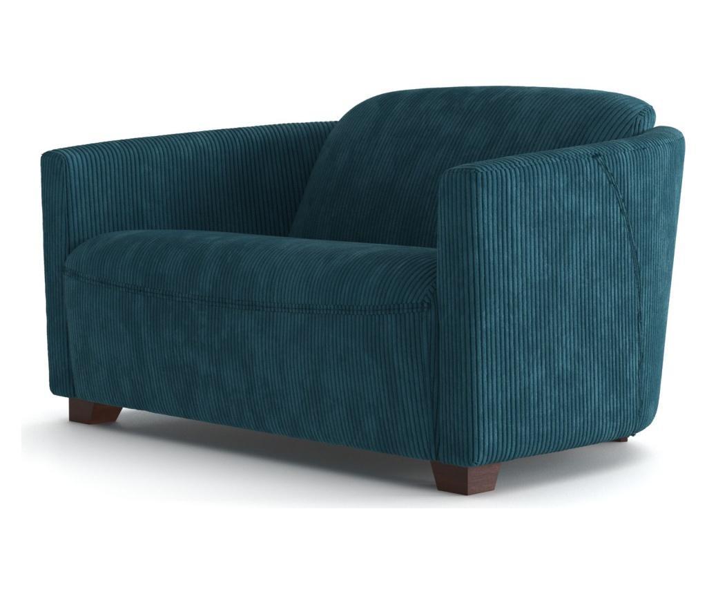 Canapea 2 locuri Milton Turquoise