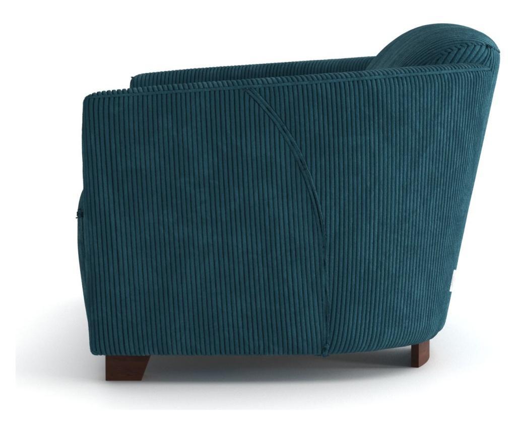 Canapea 3 locuri Milton Turquoise