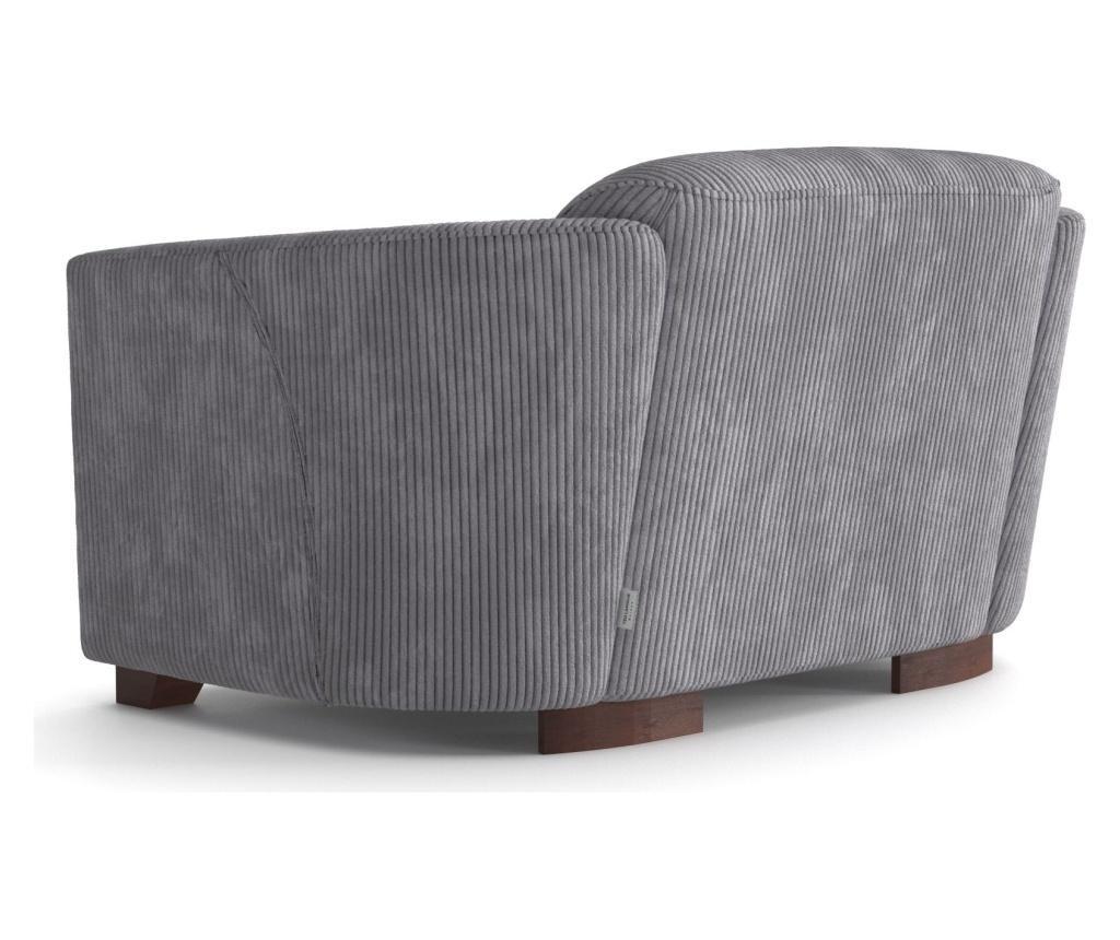Canapea 2 locuri Milton Light Grey
