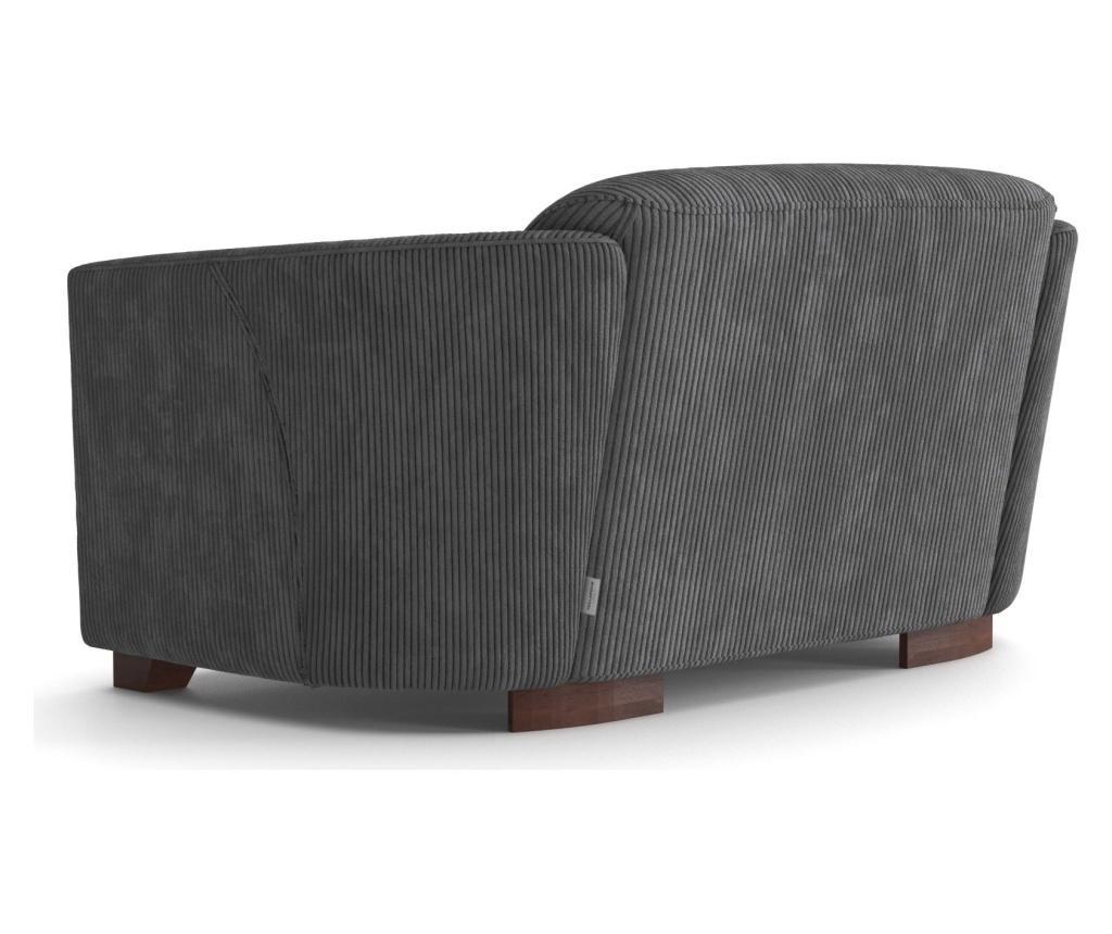 Canapea 3 locuri Milton Anthracite