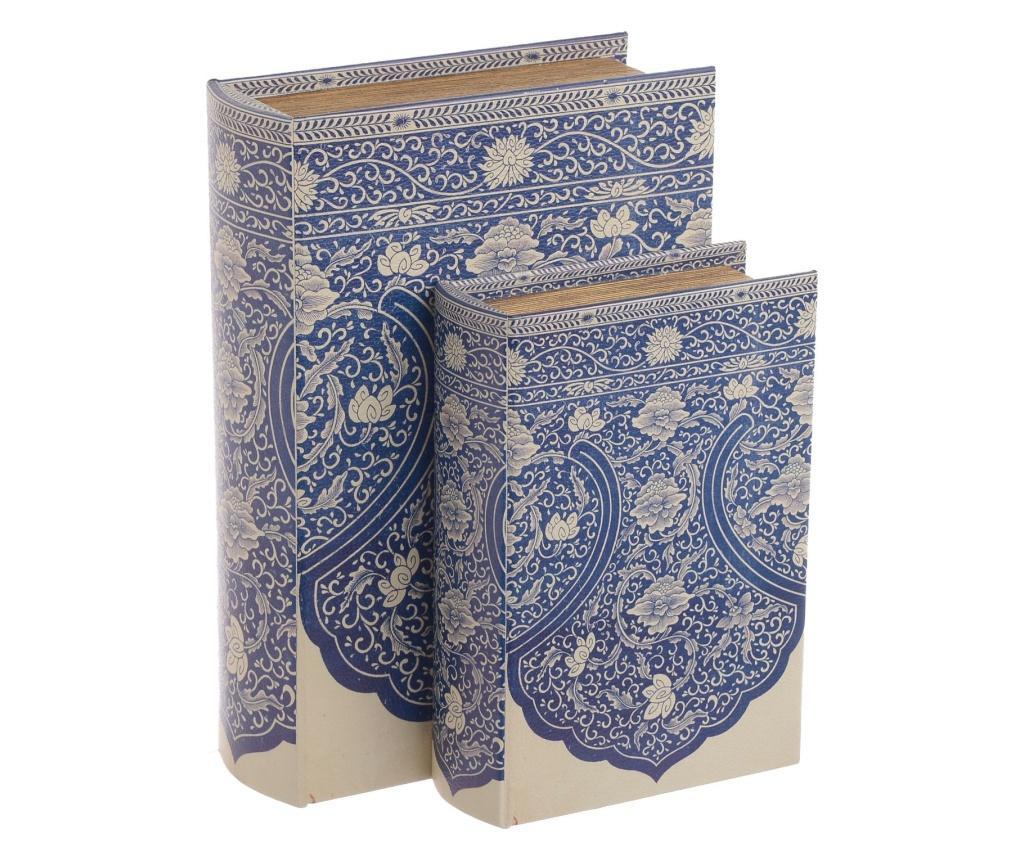 Set 2 kutije tipa knjige