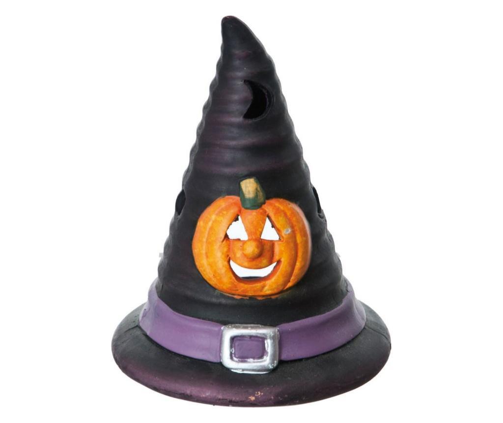 Suport pentru lumanare Witch Hat Halloween