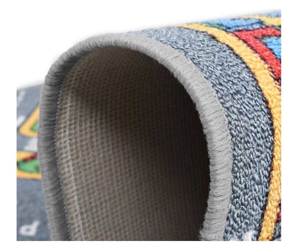 Tepih za igranje 120 x 160 cm uzorak gradske ceste