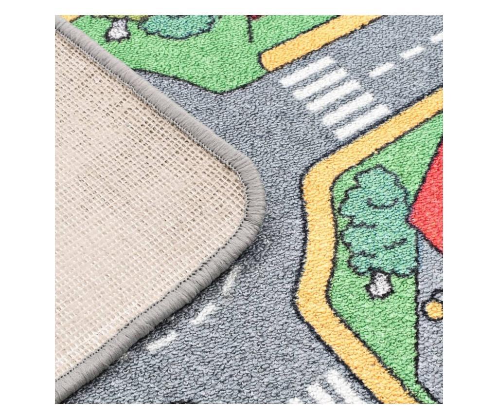 Tepih za igranje 170 x 290 cm uzorak gradske ceste