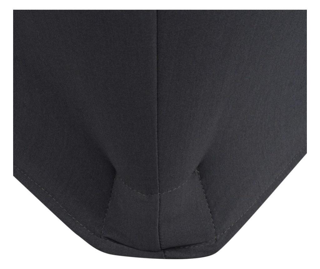 Elastyczny pokrowiec na stół 183x76x74 cm, 2 szt., antracytowy (szary)