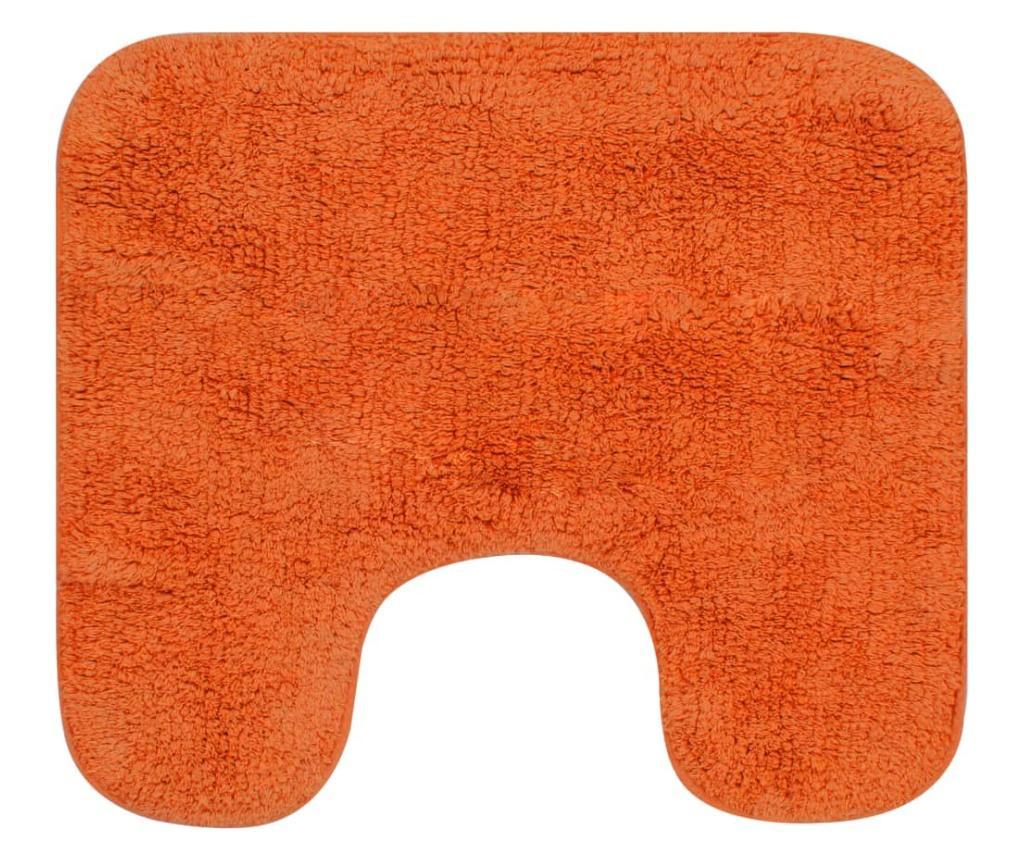 2-dijelni set kupaonskih otirača od tkanine narančasti