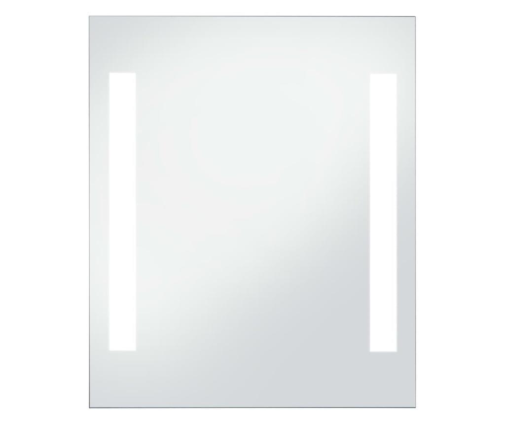 Kupaonsko LED zidno ogledalo 50 x 60 cm