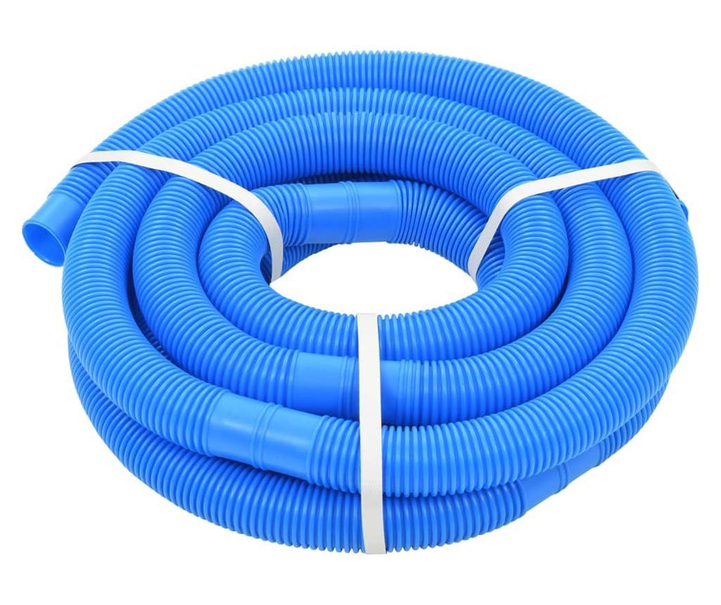 Wąż do basenu, niebieski, 32 mm, 6,6 m