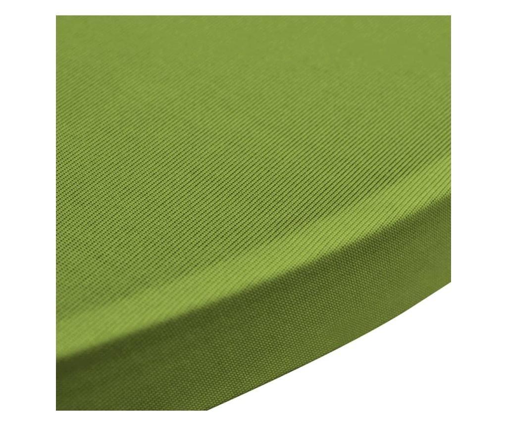 Elastyczne pokrowce na stół, 4 szt., 60 cm, zielone