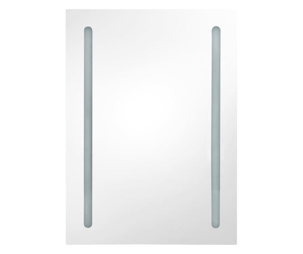 LED kupaonski ormarić s ogledalom 50 x 13 x 70 cm