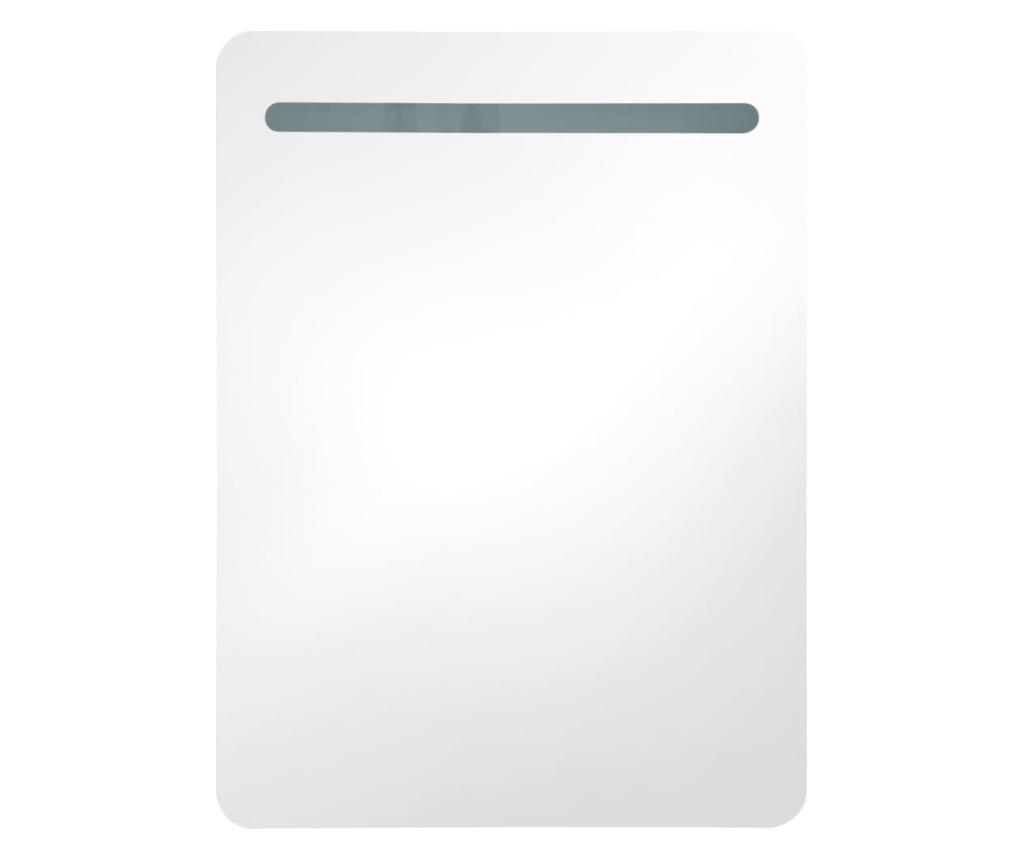 LED kupaonski ormarić s ogledalom 60 x 11 x 80 cm