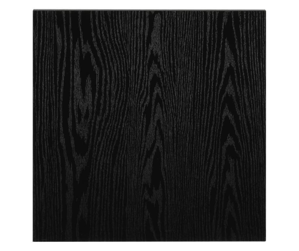 Mebel łazienkowy, czarny, 40 x 40 x 16,3 cm