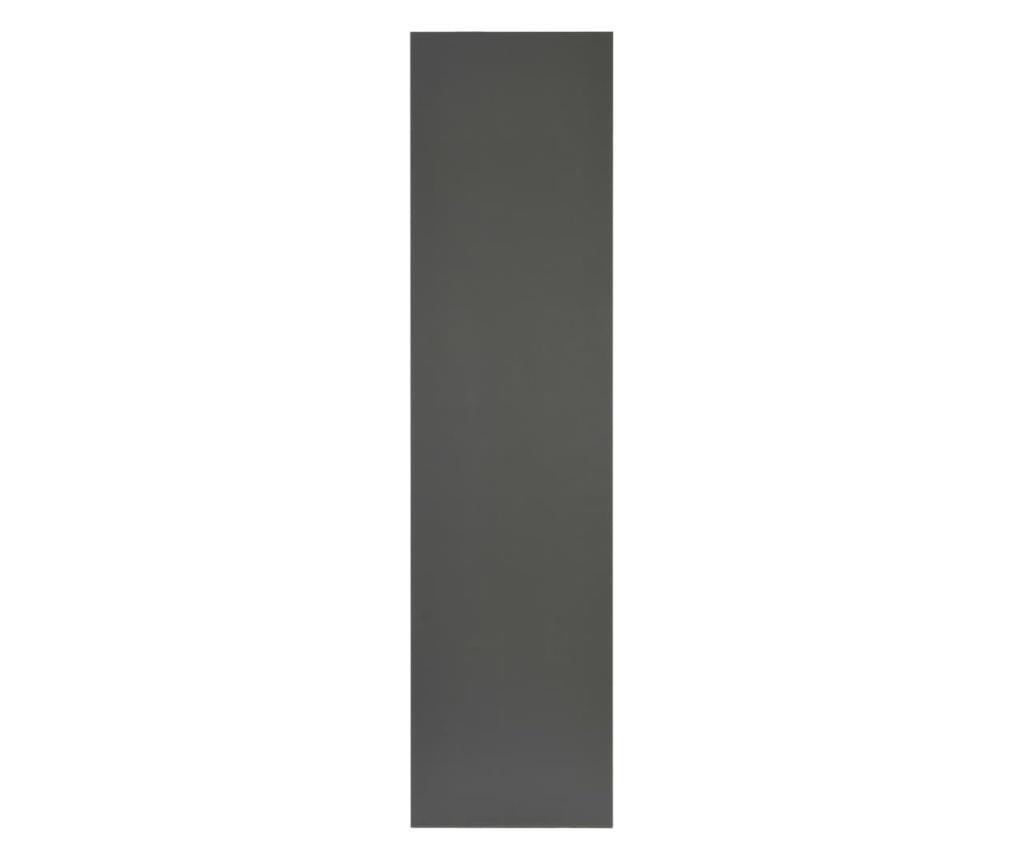 Mebel łazienkowy, szary, 160 x 40 x 16,3 cm