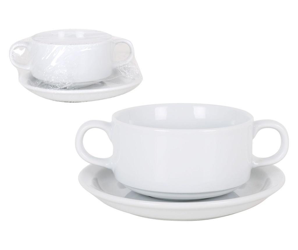 Set bol pentru supa si farfurioara