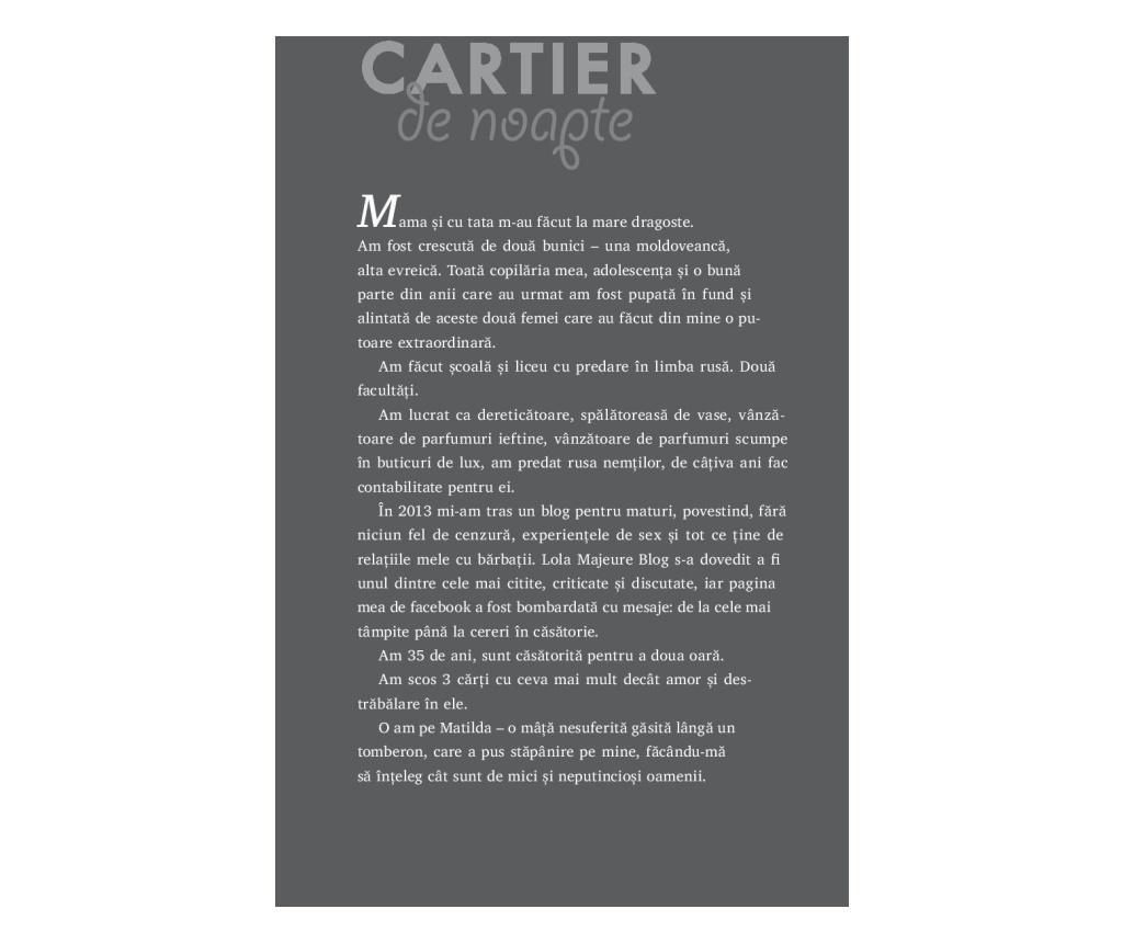 "Carte ""Cartita"""