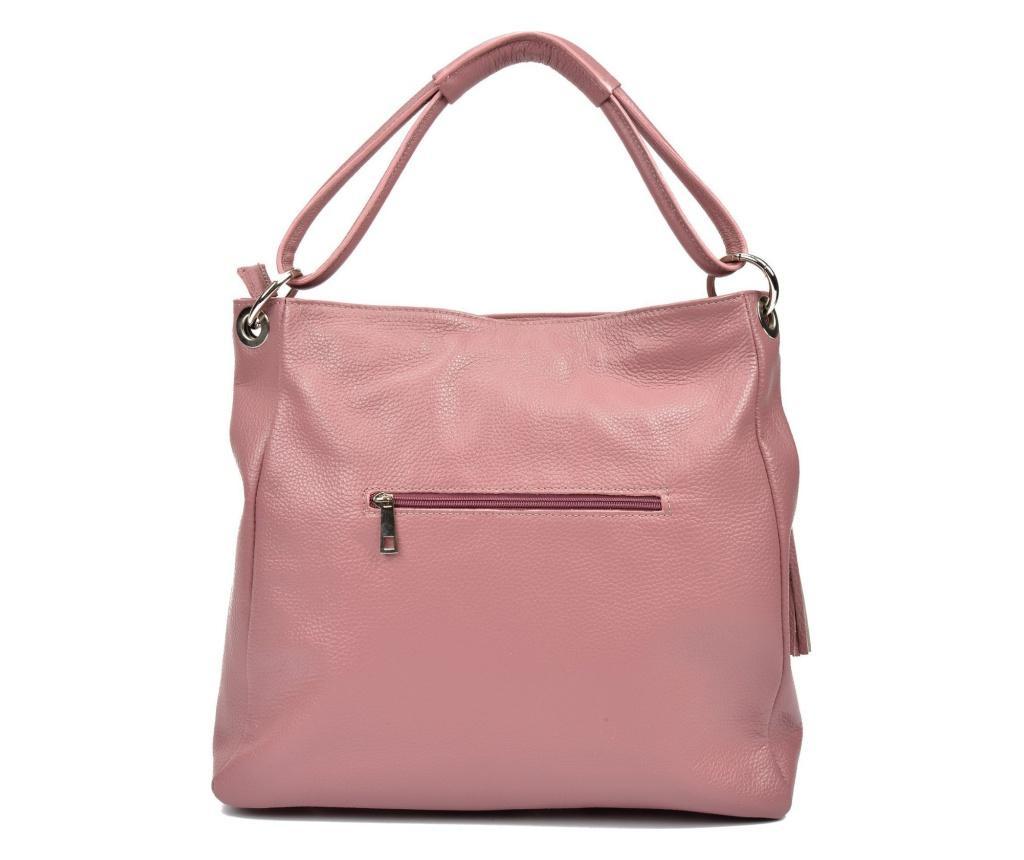 Geanta dama Anna Luchini, piele, roz
