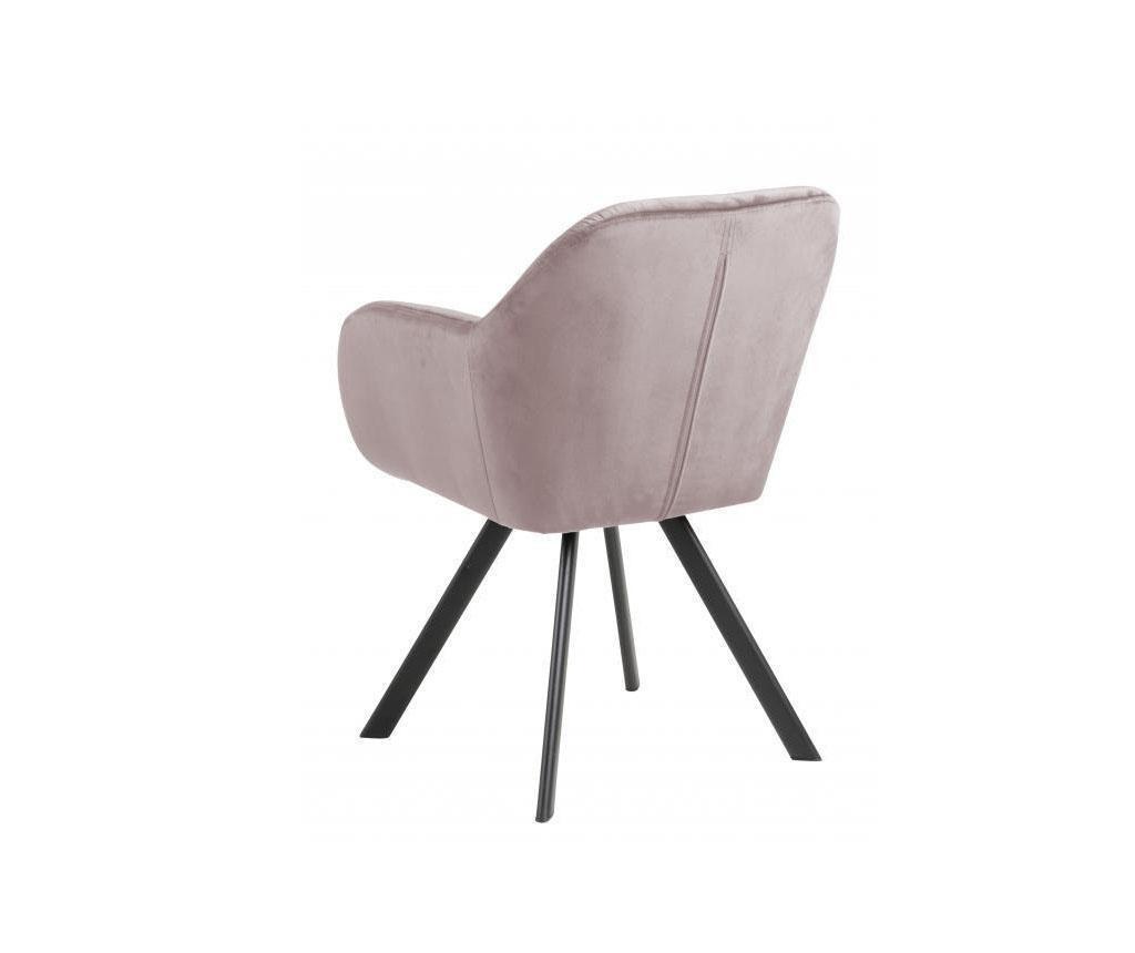 Židle Lola Light Pink