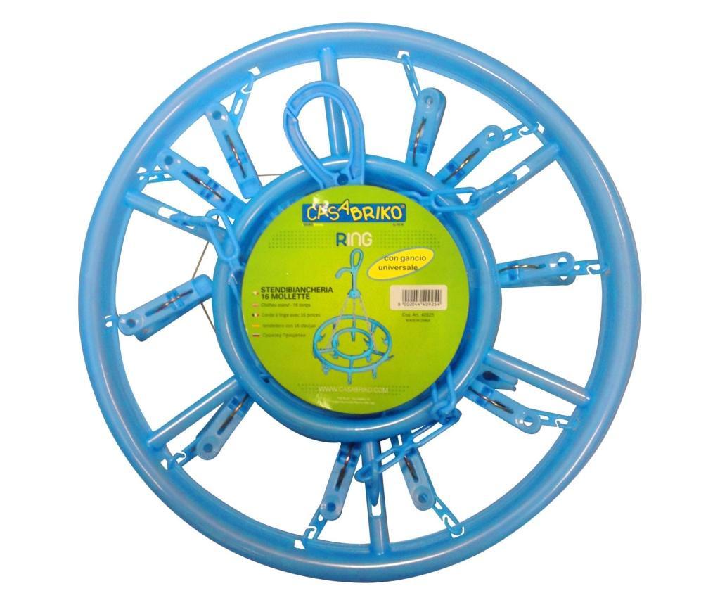 Suszarka  na pranie z 16 klamerkami Ring Blue