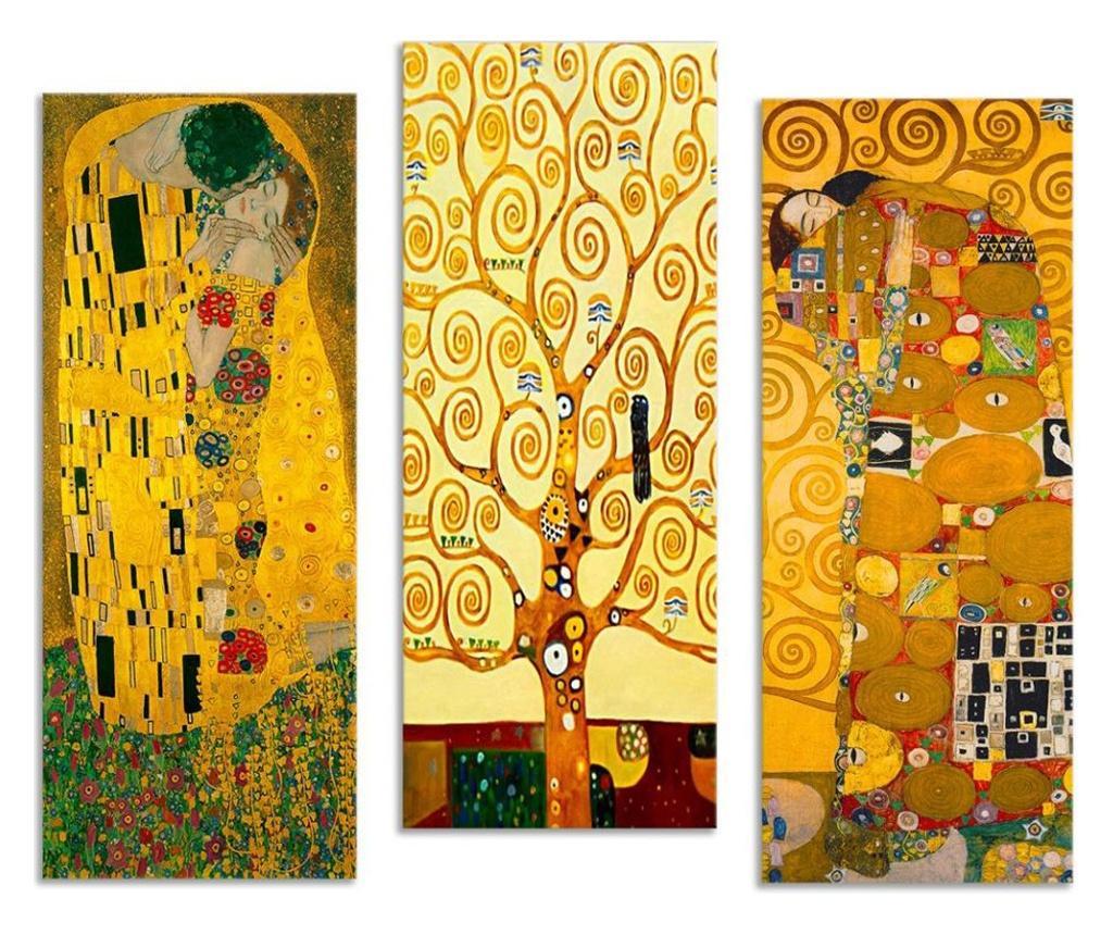 Set 3 tablouri Odo 20x50 cm