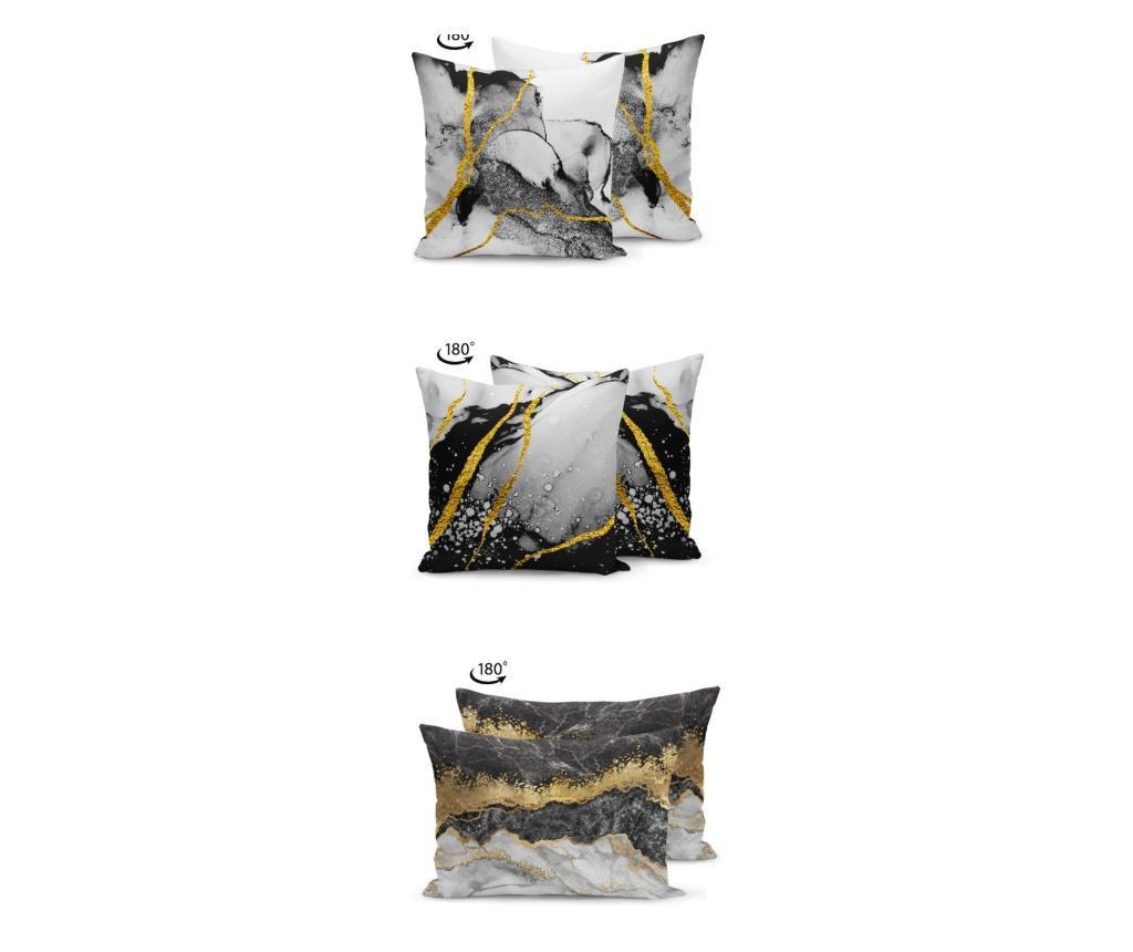 Set 3 jastučnice Kate Louise 43x43 cm