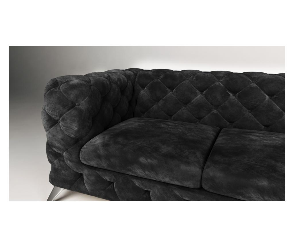 Coltar dreapta Chesterfield Chelsea Black