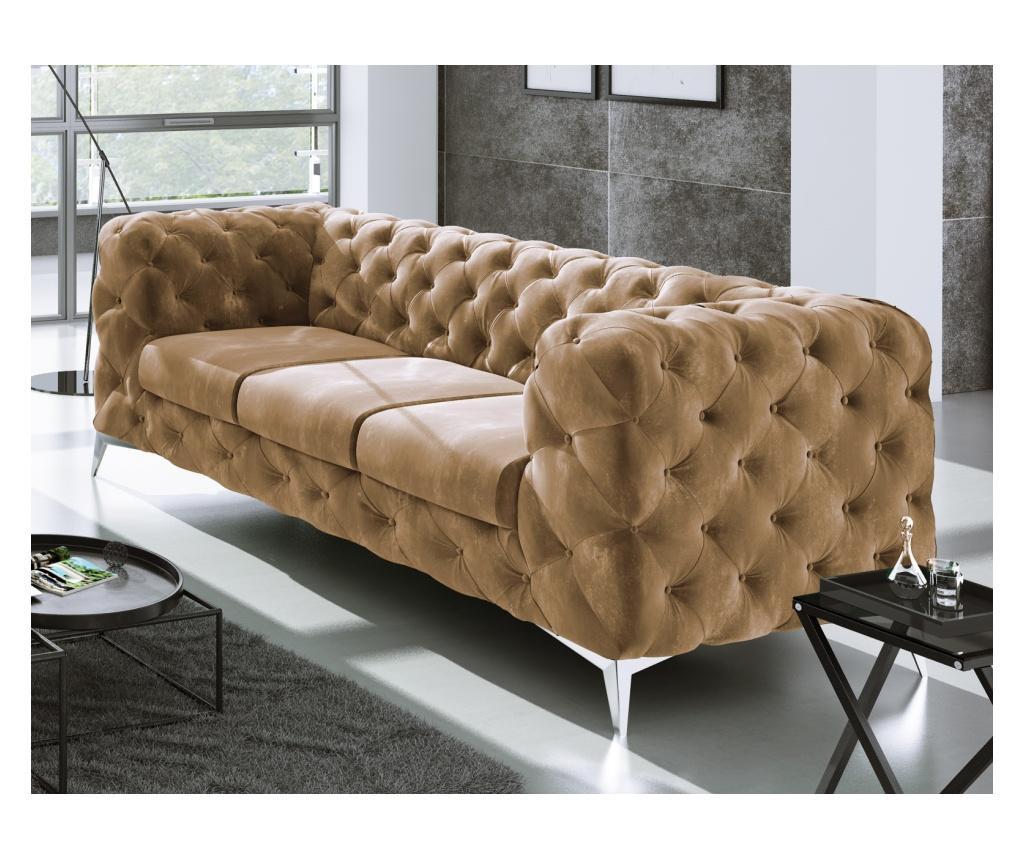 Chesterfield Chelsea Beige Háromszemélyes kanapé