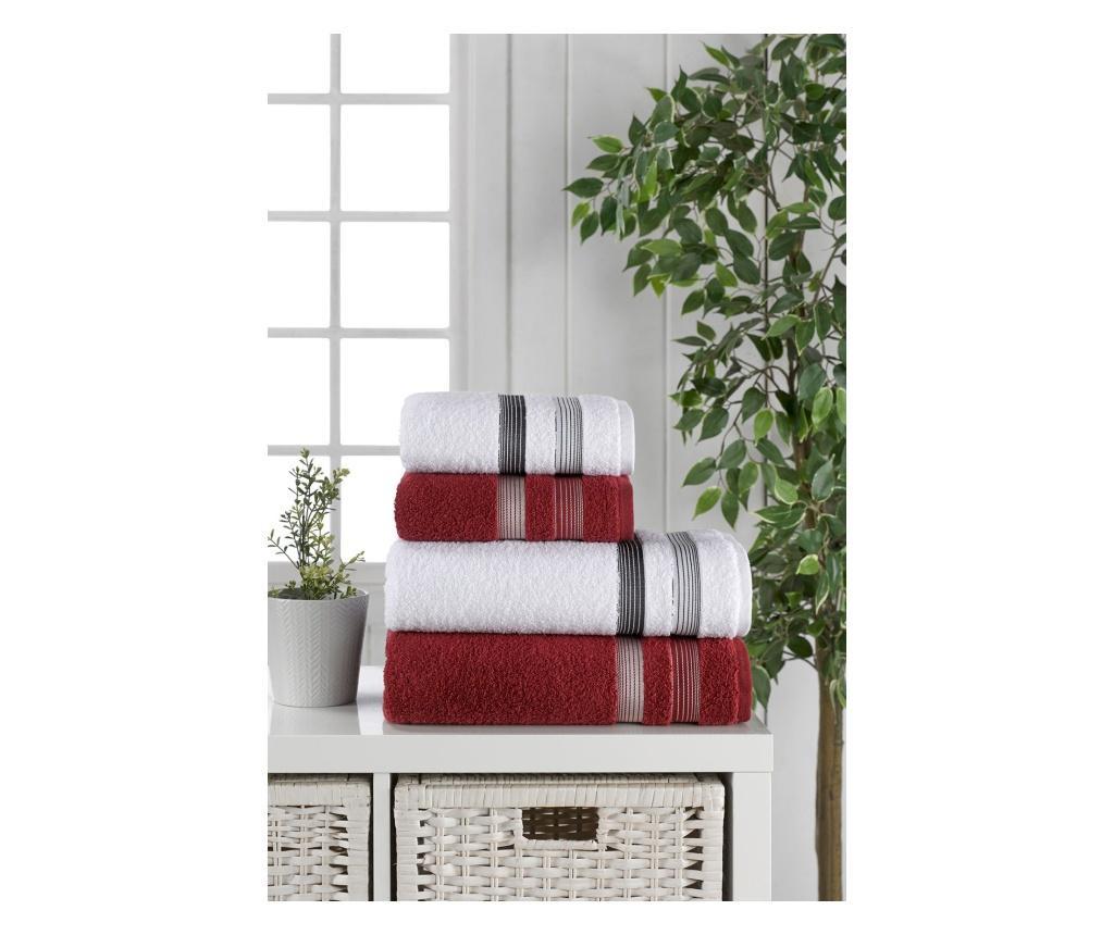 Zestaw 4 ręczników kąpielowych Yağmur
