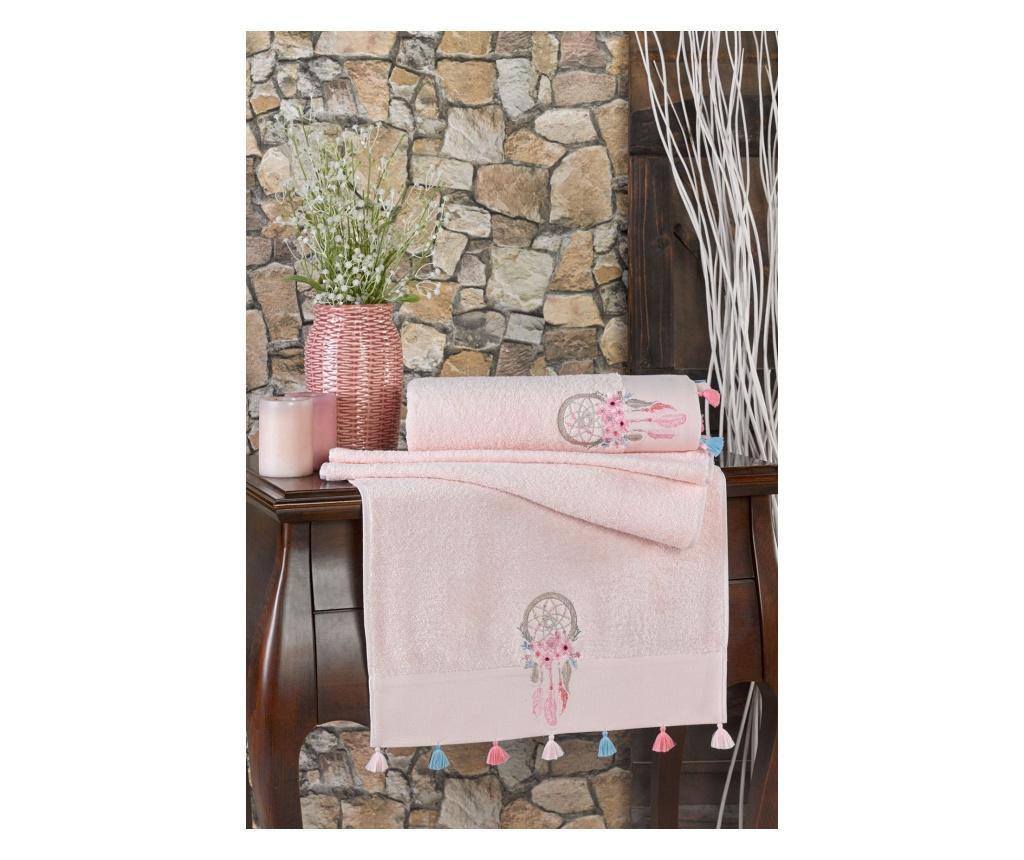 Zestaw 2 ręczników kąpielowych RÜYA