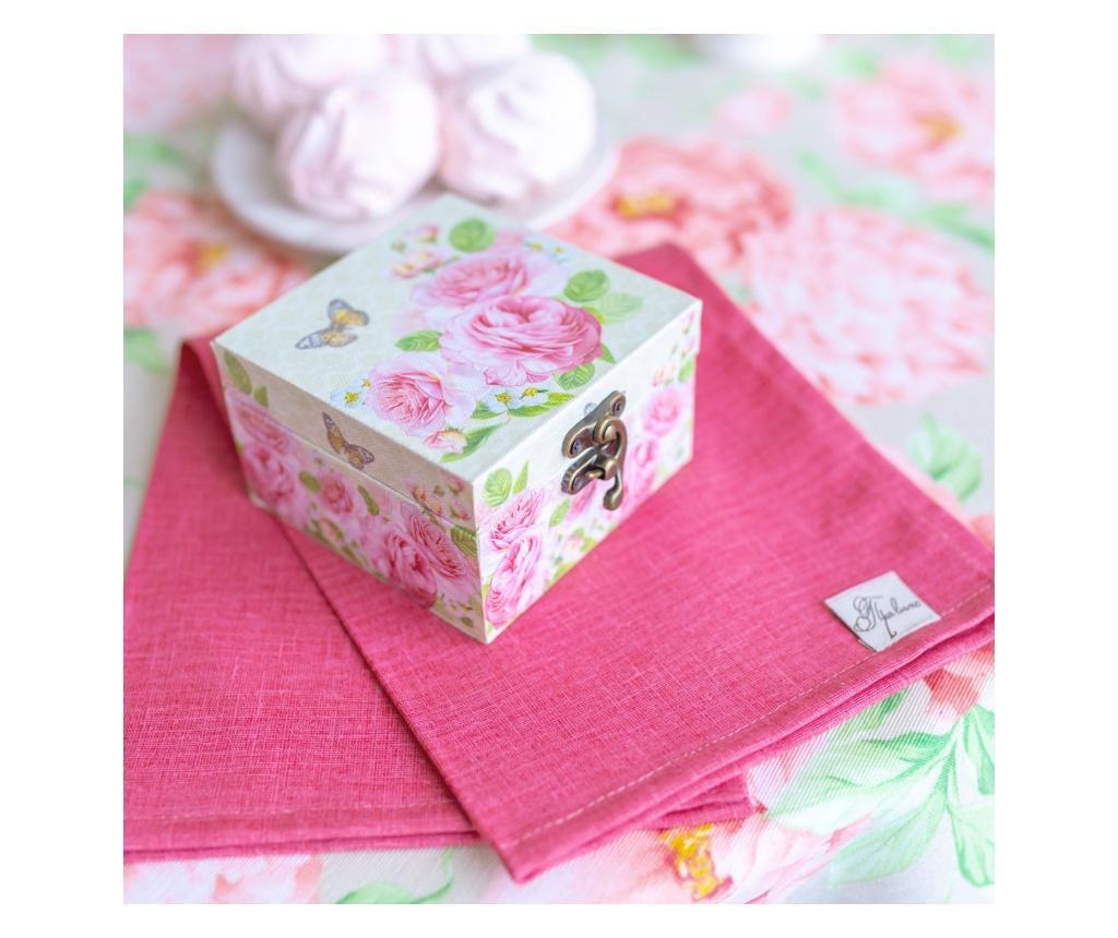 Kutija za papirnate maramice Peonies 35x45 cm