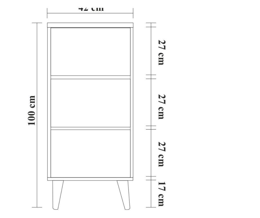 Ντουλάπι με 3 συρτάρια
