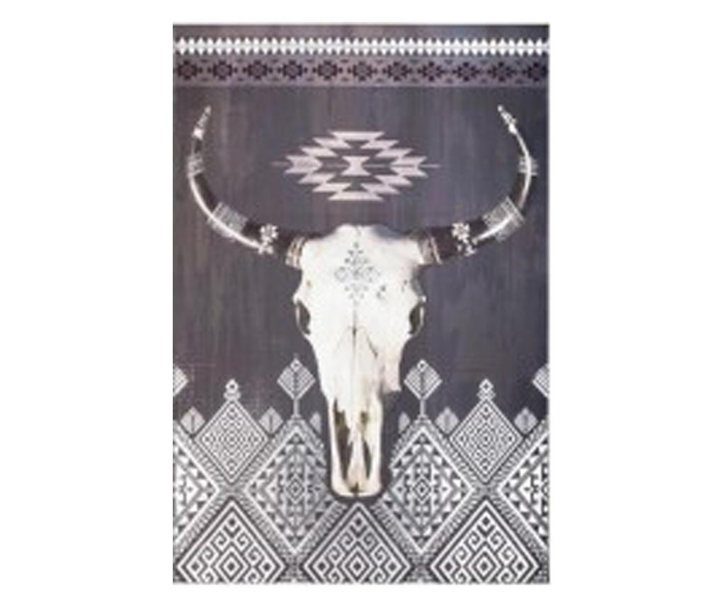 Tablou canvas Boufalo Grey, 60x70 cm