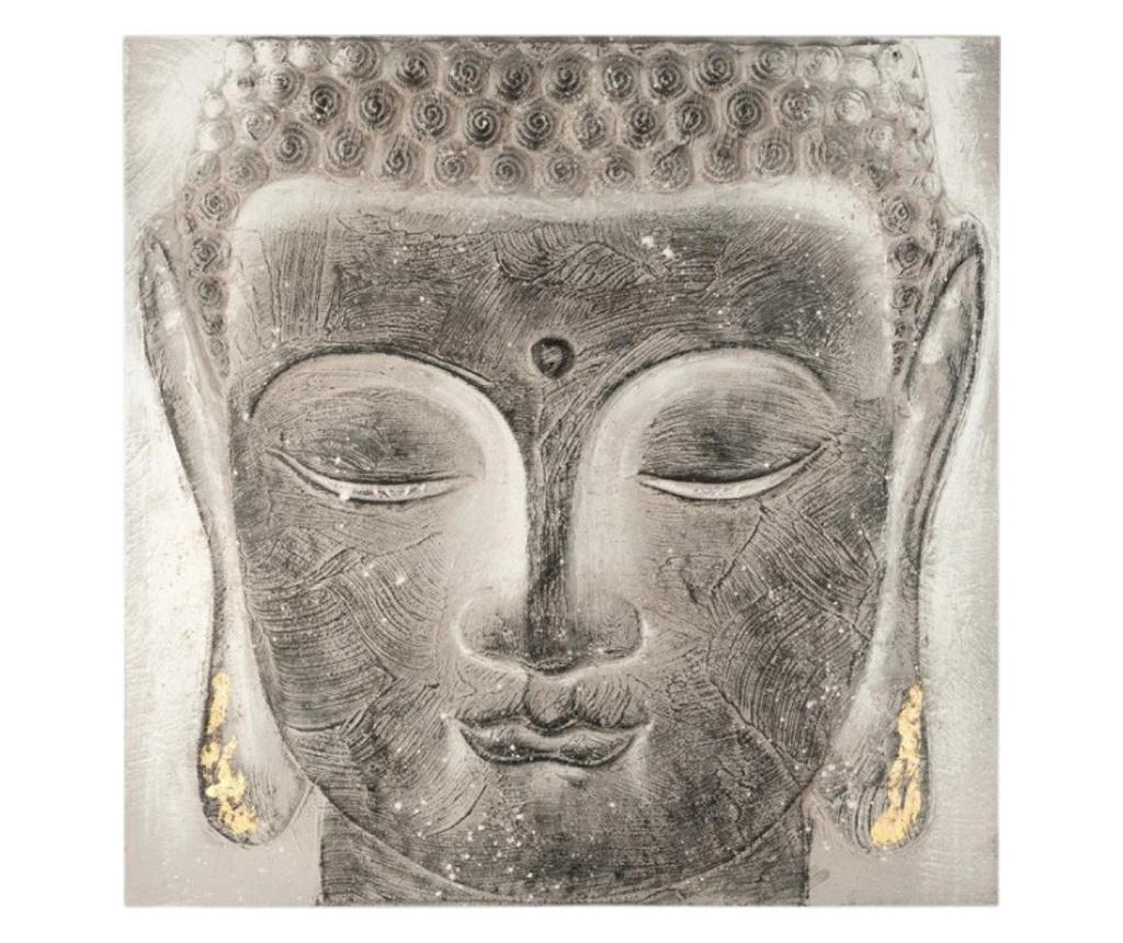 Tablou canvas Bouddha Sign 58x58 cm