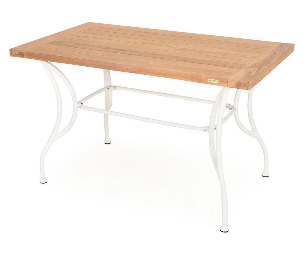Exteriérový stôl Versailles White